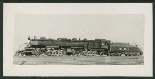 Atchison, Topeka & Santa Fe Railway Company's steam locomotive #3000 - Page