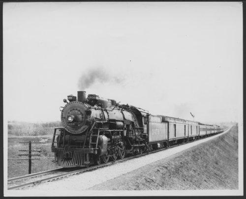 Atchison, Topeka & Santa Fe Railway Company's steam locomotive #3459 - Page