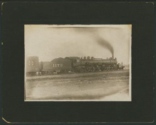 Atchison, Topeka & Santa Fe Railway Company's steam locomotive #1173 - Page