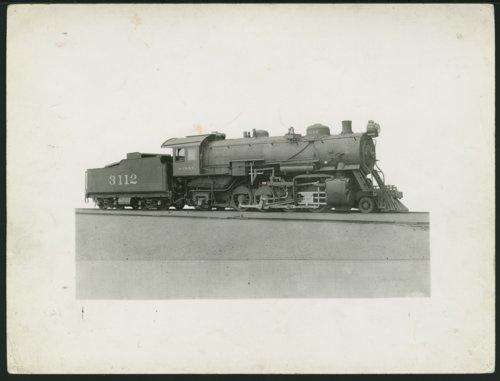 Atchison, Topeka & Santa Fe Railway Company's steam locomotive #3112 - Page