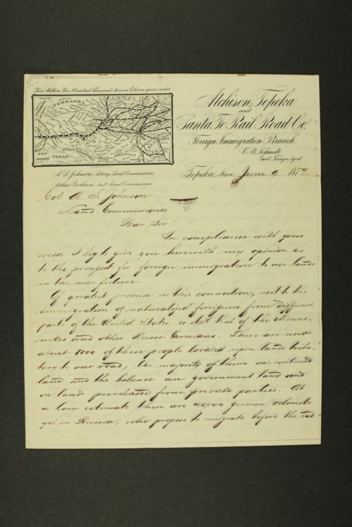 C.B. Schmidt to Colonel A.S. Johnson - Page
