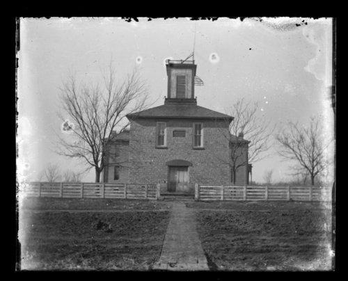 Disctrict 16 school building, Humboldt, Allen County, Kansas - Page