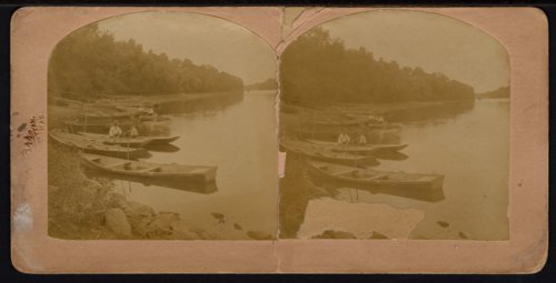 Boats on the Kansas River near Manhattan, Kansas - Page