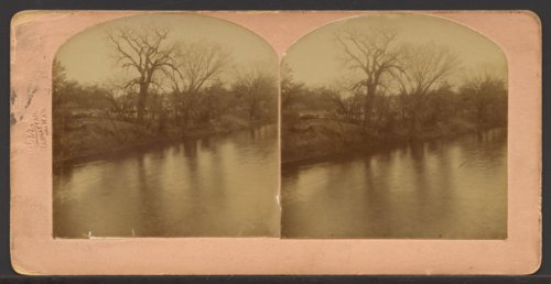 Kansas River east of Manhattan, Kansas - Page