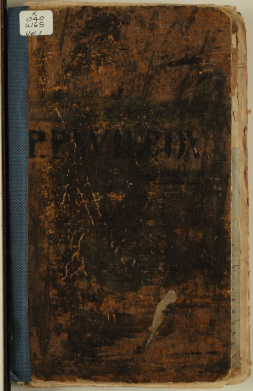 P. P. Wilcox scrapbooks - Page