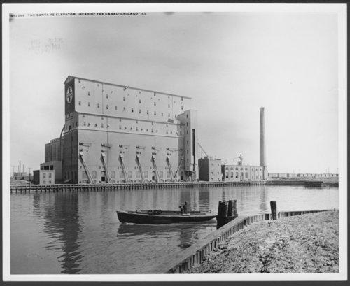 Atchison, Topeka & Santa Fe Railway Company's elevator, Chicago, Illinois - Page
