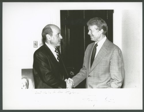 Robert T. Stephan with President Jimmy Carter - Page