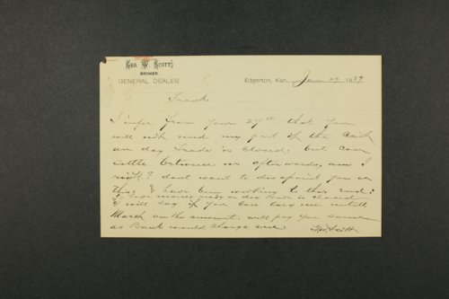 George W. Scott papers - Page