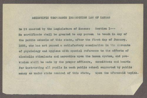 Kansas Woman's Christian Temperance Union organizational records - Page