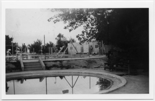 Swimming pool, Fowler, Kansas - Page