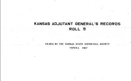 Muster rolls, Kansas State Militia, volume 2 - Page