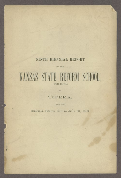 Biennial report of the State Reform School,1898 - Page