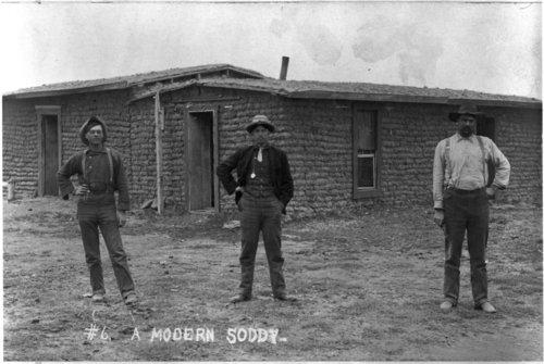 """Modern Soddy,"" Barton County, Kansas - Page"