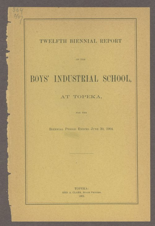 Biennial report of the Boys Industrial School, 1904 - Page