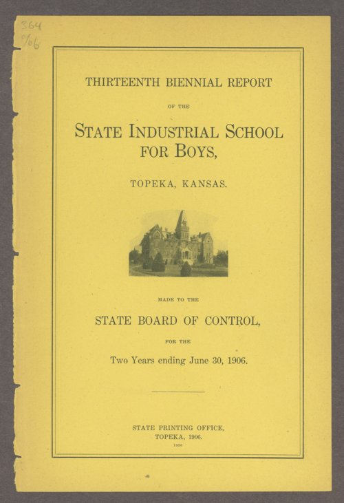 Biennial report of the Boys Industrial School, 1906 - Page