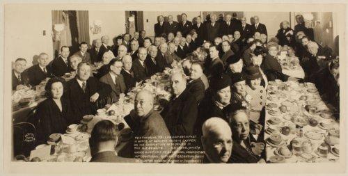 Fellowship breakfast in honor of Senator Arthur Capper - Page