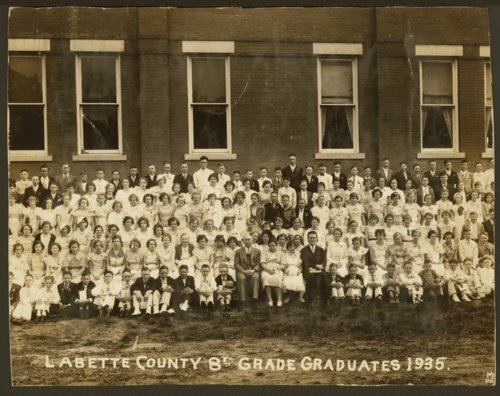 Labette County 8th grade graduates - Page