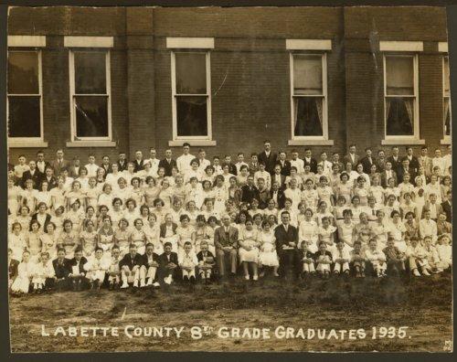 Labette County 8th grade graduates - Page
