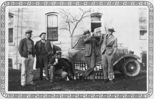 Confiscated liquor, Cottonwood Falls, Kansas - Page
