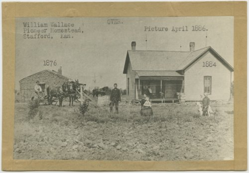 William Wallace homestead, Stafford, Kansas - Page