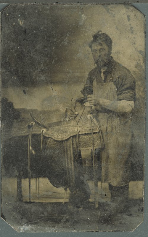 Saddle maker in Ford County, Kansas - Page