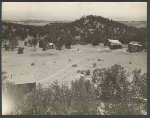Camp possibly in the hills of Colorado - Page