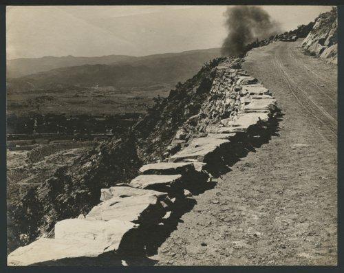 Possibly the Pike's Peak road near Colorado Springs, Colorado - Page