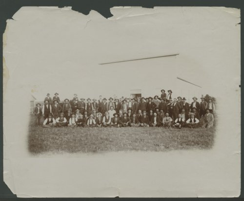 Group of men possibly in Seward County, Kansas - Page