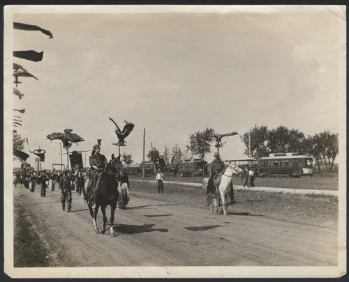Dodge City Cowboy Band, parading in Liberal, Kansas - Page