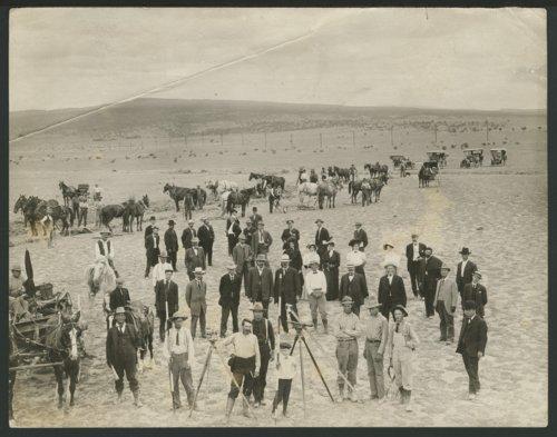 Surveyors possibly in Seward County, Kansas - Page