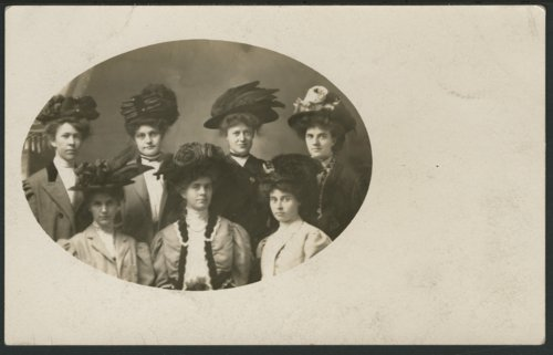 Seven unidentified women - Page