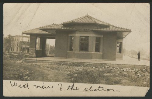 Atchison, Topeka & Santa Fe Railway Company depot, Peabody, Kansas - Page