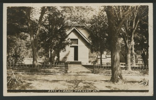 Library in Peabody, Kansas - Page
