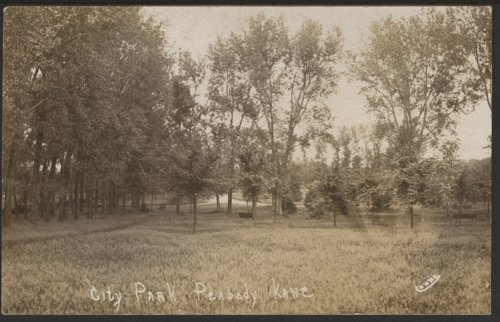 City park in Peabody, Kansas - Page