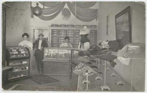 Parrott's millinery store, Colby, Kansas - Page