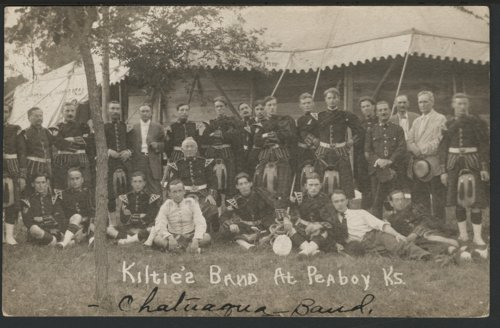 Kiltie's band at Peabody, Kansas - Page