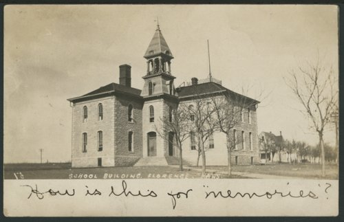 School building in Florence, Kansas - Page