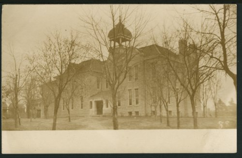 School building possibly in Florence or Peabody, Kansas - Page