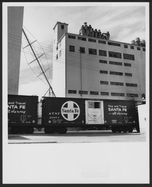 Atchison, Topeka & Santa Fe Railway Company box car - Page