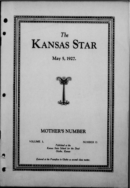 The Kansas Star, volume 50, number 15 - Page