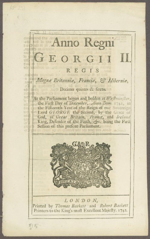 King George III materials - Page