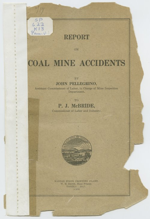 Report on coal mine accidents - Page