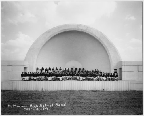 McPherson High School band in McPherson, Kansas - Page