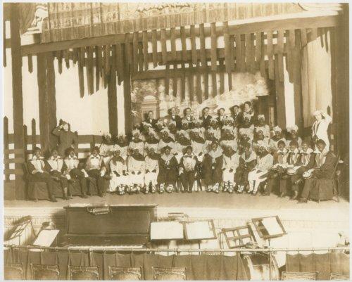 McPherson Stag Club minstrel show - Page