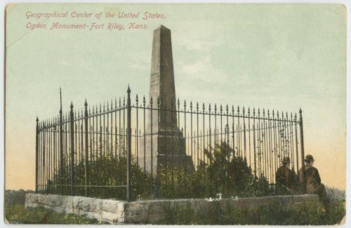 Ogden monument at Fort Riley, Kansas - Page