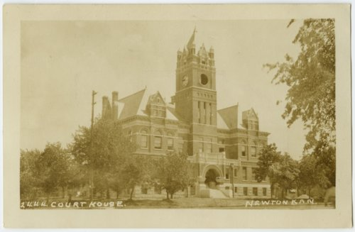 Harvey County courthouse in Newton, Kansas - Page