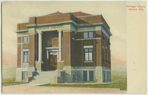 Carnegie Library in Newton, Kansas - Page
