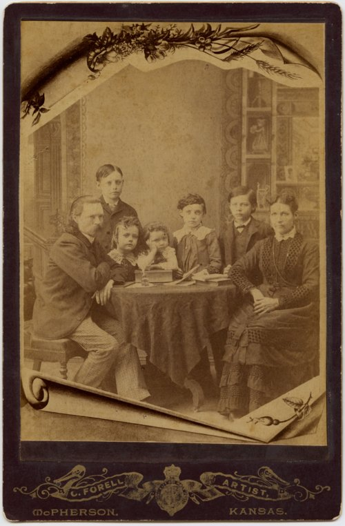 Carl and Mary Forell with their children - Page