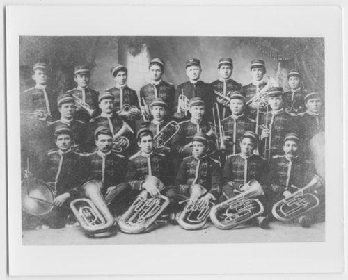Moundridge band in Moundridge, Kansas - Page