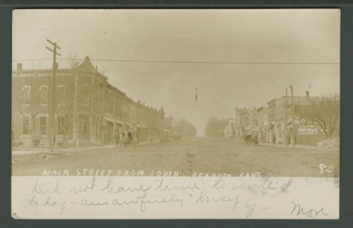 Main Street in Peabody, Kansas - Page